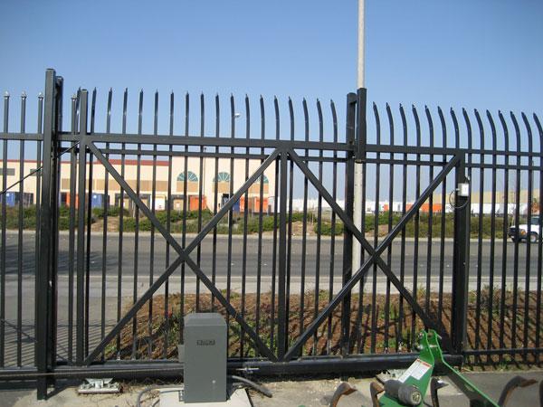 Commercial Wrought Iron Fence Sacramento