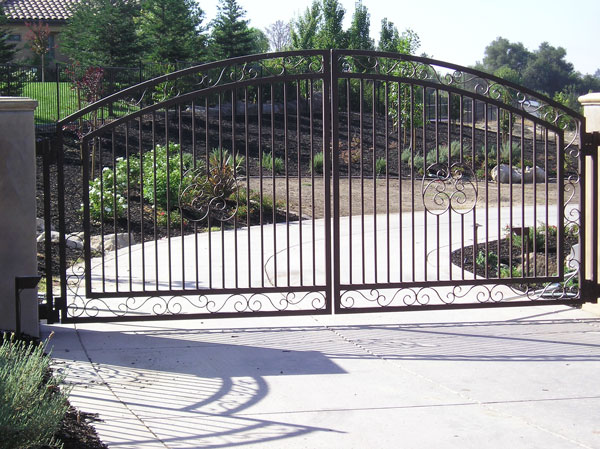Iron Driveway Gates Sacramento Wrought Iron Driveway Gates