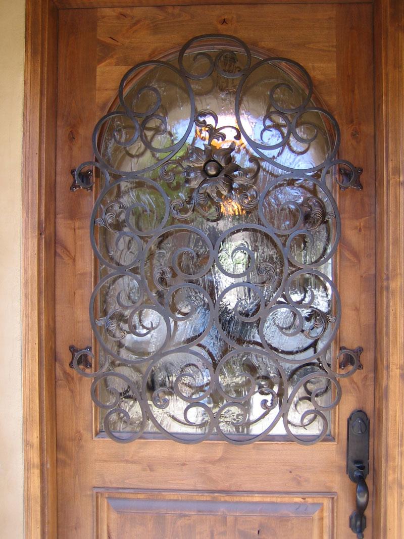 Wrought Iron Door Sacramento Located In Sacramento