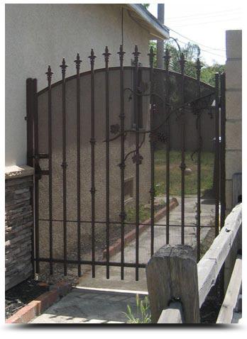 Wrought Iron Gates Sacramento Garden Gates Driveway Gates